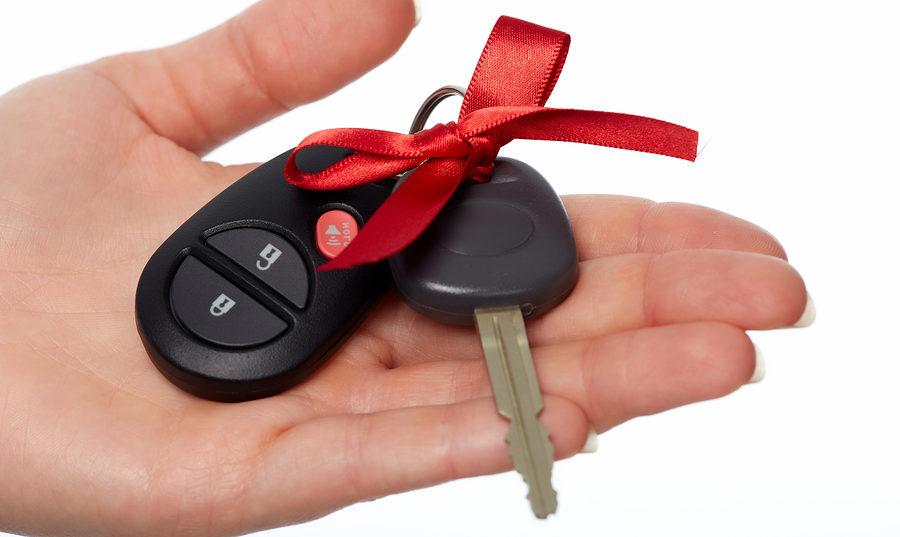 Дарение авто